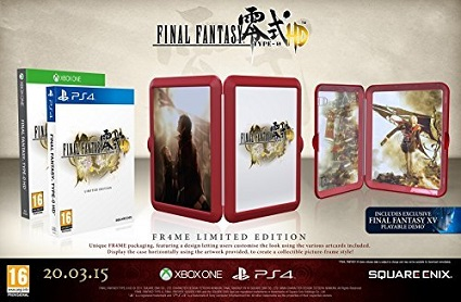Final Fantasy Type-0 HD FR4ME Limited Edition