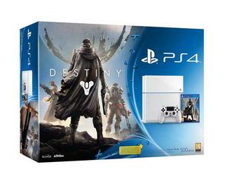 PS4 500GB White Console + Destiny