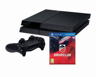 PS4 500GB Console + Driveclub