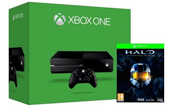 Xbox One 500GB Console + Halo: The Master Chief Collection