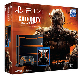 PlayStation 4 1TB Limited Edition Call of Duty Black Ops 3 Console Bundle