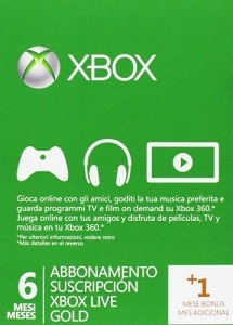 Xbox Live 7 Month Gold Membership