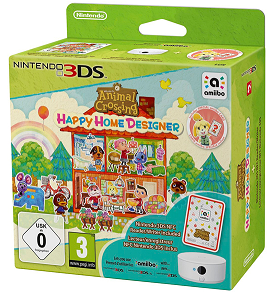 Animal Crossing: Happy Home Designer + amiibo Card + NFC Reader