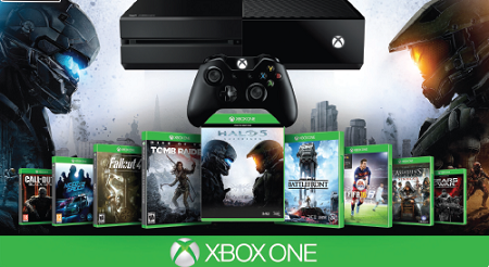 Xbox One 500GB Console Bundle
