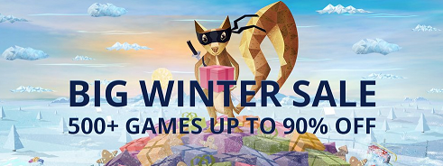 GOG Big Winter Sale