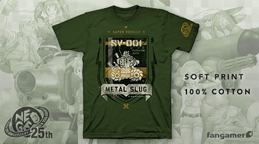 NEOGEO 25th Anniversary Ltd. Ed. METAL SLUG SV-001 T-Shirt