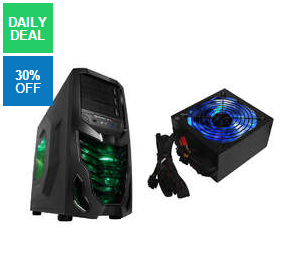 Raidmax Super Cobra Black Gaming Chassis + Raidmax 730W Modular PSU