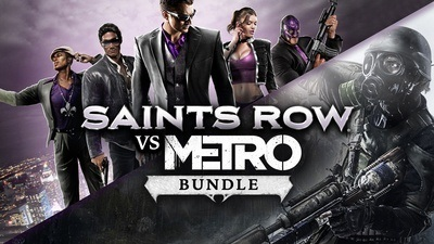 Saints Row vs Metro Bundle