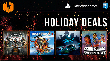 US PlayStation Store Holiday Flash Sale
