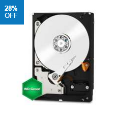 "Western Digital 2.5"" Green 2TB HDD"