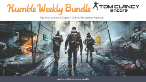 Humble Weekly Bundle Tom Clancy Encore