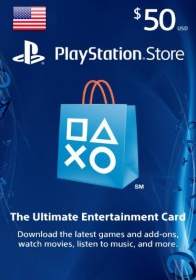 $50 US PlayStation Store