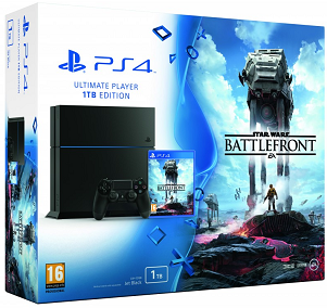 PlayStation 4 1TB Console + Star Wars Battlefront