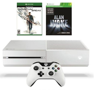 Xbox One 500GB White Console + Quantum Break