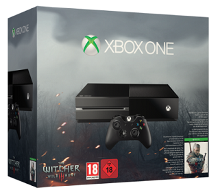 Xbox One 500GB Console + The Witcher 3