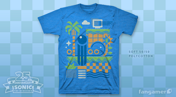 Exclusive Sonic t-shirt