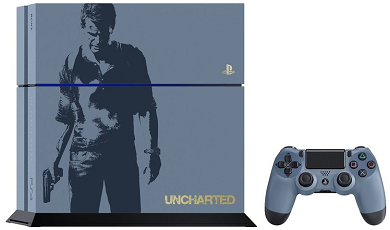 PlayStation 4 1TB Console Limited Edition Uncharted 4 Bundle