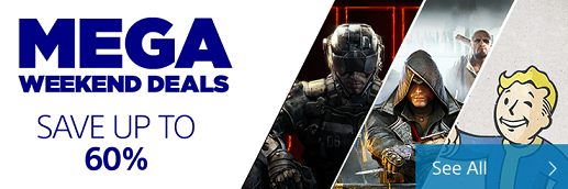 PlayStation Store Mega Weekend Deals