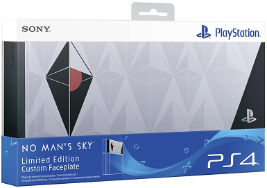 No Man's Sky Limited Edition PS4 Faceplate