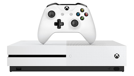 Xbox One S 500GB Console + FIFA 17 + Gears of War 4