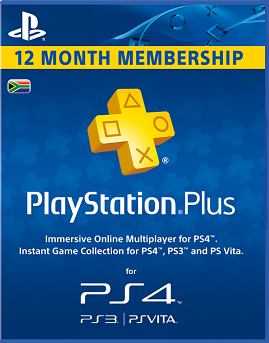 12 Month PlayStation Plus Subscription