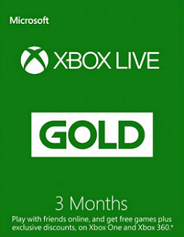 Xbox Live 3 Month Gold Sub + Rocket League