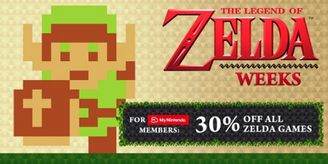 The Legend of Zelda Weeks 2017 Sale