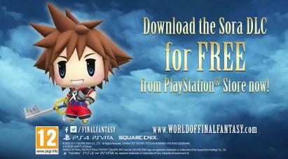 World of Final Fantasy - Sora DLC