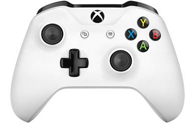 Xbox One Wireless Controller with 3.5mm Jack (White)