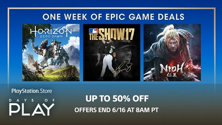US PlayStation Store Days Of Play Sale