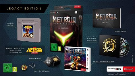 Metroid: Samus Returns Legacy Edition