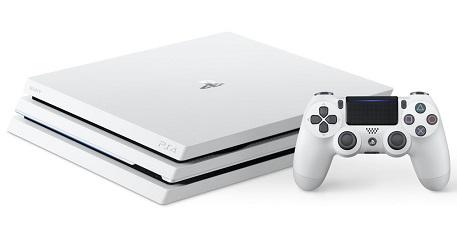 PlayStation 4 Pro 1TB Console (White) + Gran Turismo Sport