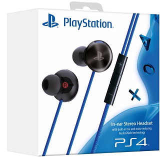 PlayStation In-ear Stereo Headset