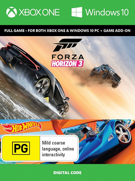 Forizon Horizon 3 + Hot Wheels
