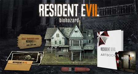 Resident Evil 7 Biohazard Collector's Edition House