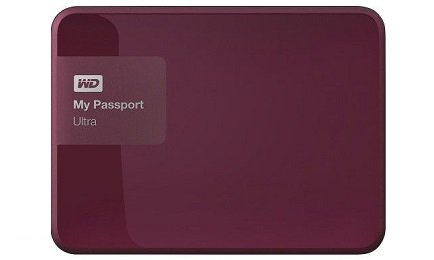 WD My Passport Ultra 3TB Portable Hard Drive