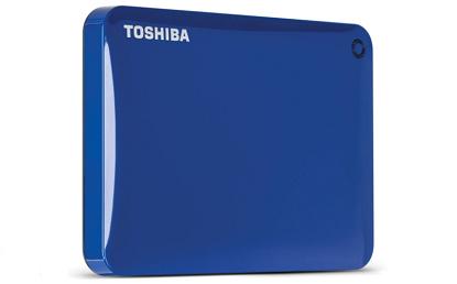 Toshiba Canvio Connect Portable 1TB HDD