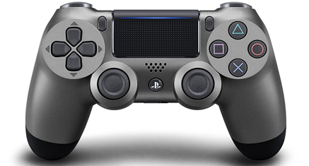 DualShock 4 Wireless Controller V2 (Steel Black)