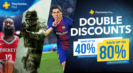 PlayStation Plus Double Discounts Sale