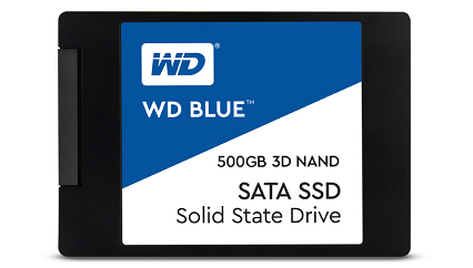 WD Blue 3D NAND 500GB SSD