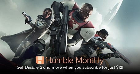 June 2018 Humble Monthly Bundle