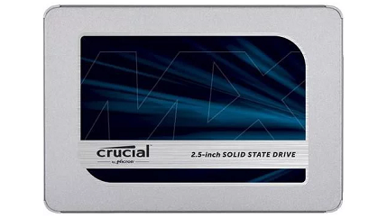 Crucial MX500 2.5″ 500GB Solid State Drive