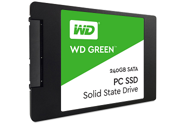 WD Green 240GB 2.5″ Solid State Drive