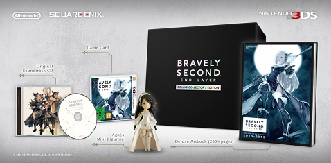 Bravely Second End Layer Deluxe Collector's Edition
