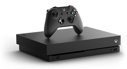Xbox One X 1TB Console + Xbox Live 3 Months Gold