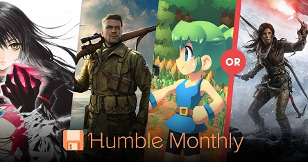 September 2018 Humble Monthly Bundle
