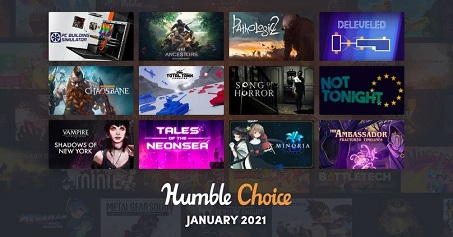Humble Choice January 2021